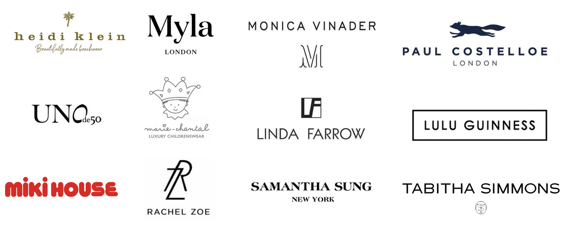 Chicmi brands list